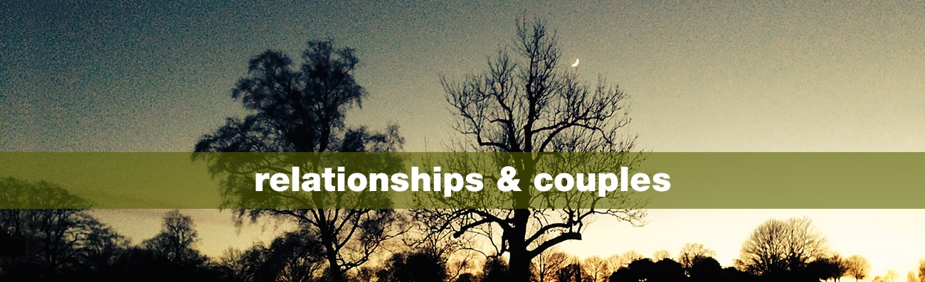 Counselling with Frazer Reid, Couples, individuals, supervision